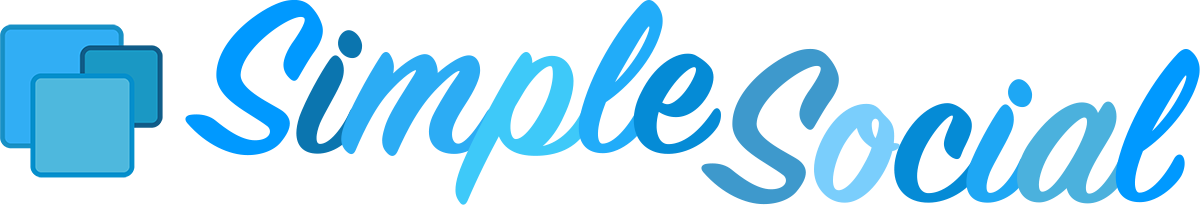 Social Icons WordPress Plugin | SimpleSocial Pro